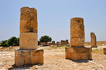 Palaipaphos Old Paphos was one of the most celebrated pilgrimage centres of the ancient Greek world, and once the city-kingdom of Cyprus, Here stood the famous elaborate sanctuary of Aphrodite, Kouklia, Paphos district, Cyprus, Eastern Mediterranean Sea