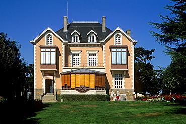childhood house of the famous fashion designer Christian Dior, Granville, Mont-Saint-Michel bay, Manche department, Normandy region, France, Europe