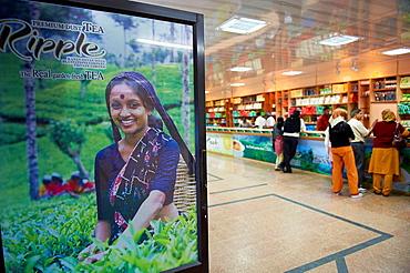 India, Kerala state, Munnar, tea shop