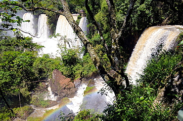 Argentina. Misiones. Iguazu Falls, general view. UNESCO World Heritage