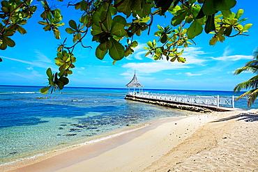 Half Moon beach, Montego Bay, Jamaica, West Indies, Caribbean, Central America.