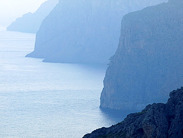 North Coast Sierra de Tramuntana Escorca, Balearic Islands Spain