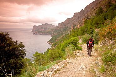 Sa Costera road, Soller, Sierra de Tramuntana Mallorca, Balearics Spain