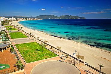Playa Cala Millor Mallorca Balearics Spain