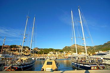 Tramuntana Mallorca Soller port, Balearic Islands Spain