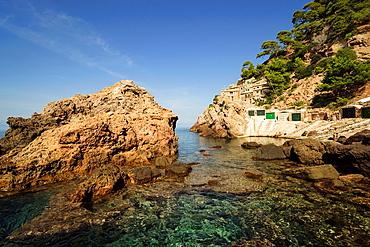 Es Calo SÂ¥ Estaca, Valldemossa, Natural Park of the Sierra de Tramuntana Majorca Balearic Islands Spain