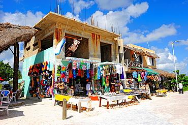 Gift Shop Costa Maya Mexico Beach Caribbean Cruise Ship Port