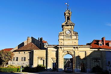 Saint-Pierre city gate, Pontarlier, Doubs departement, Franche-Comte region, France Europe
