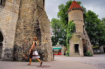 Viru Varav City Gate, Viru Street,Old Town,Tallinn,Estonia
