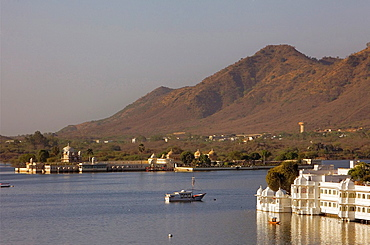 Jag Mandir Palace and Lake Palace Hotel, Lake Pichola,Udaipur, Rajasthan, india