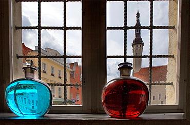 Town Hall Square from Town Hall Pharmacy,Tallinn,Estonia