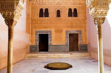 `Cuarto Dorado¥,gold room, Nazaries palaces, Alhambra, Granada Andalusia