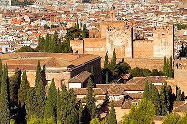 Alhambra,Granada, Andalusia, Spain