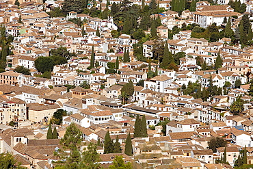 View of Albaicin quarter,Granada Andalusia, Spain