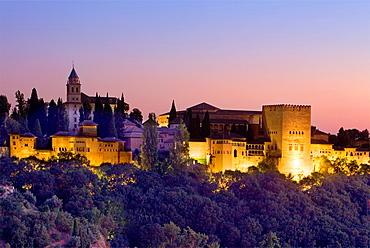 Alhambra,Granada Andalusia, Spain