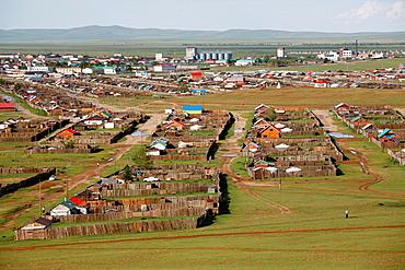 Cityscape of Orkhon, Mongolia