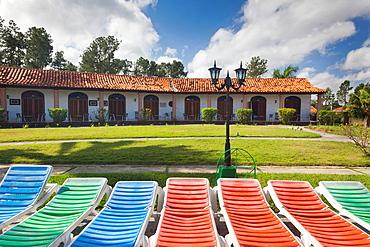 Cuba, Pinar del Rio Province, Vinales, Vinales Valley, Hotel La Ermita