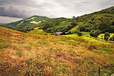 Buciero hill  Santona  Santander  Cantabria  Spain