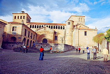 Santa Juliana collegiate church. Santillana del Mar, Cantabria province, Spain.