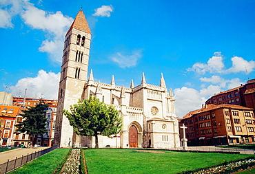 Santa Maria de la Antigua church. Valladolid, Castilla Leon, Spain.