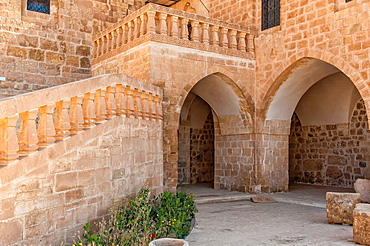 Deyrulzafaran or Saffron Monastery, Mardin, Anatolia, Eastern Turkey