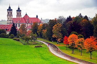 view for Benedictine Ottobeuren Abbey, Ottobeuren, Germany