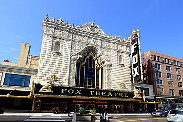 Fox Theatre in Grand Center Theater District St  Louis Missouri MO