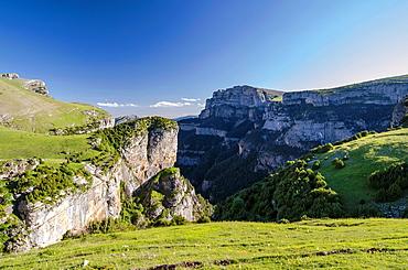 Anisclo canyon at Ordesa & Monte Perdido National Park, Huesca, Aragon, Spain Pyrenees