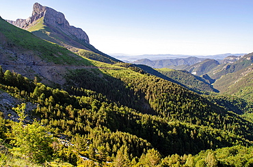 Castillo Mayor mountains at Ordesa & Monte Perdido National Park  Aragon, Huesca Pyrenees, Spain