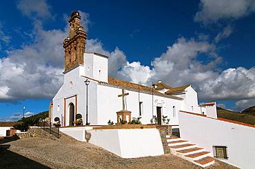 Church of Nuestra Senora de las Flores, Sanlucar de Guadiana, Huelva-province, Spain