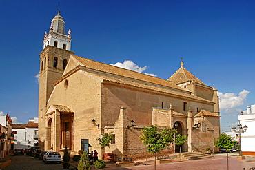 Church of Santa Maria de la Oliva, Salteras, Seville-province, Spain