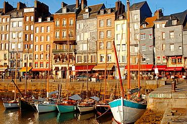 photo of Harbour side restauarant, La Bisquine  Honfleur, Normandy, France