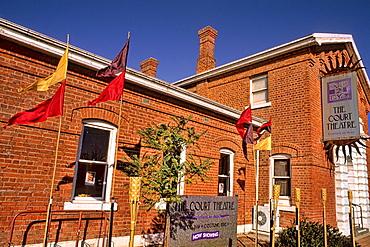 Court Theatre in Small town of Healsville Victoria Australia