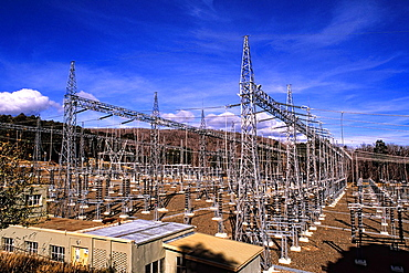 Electric Plant at Tooma Reservoir and Dam Australia