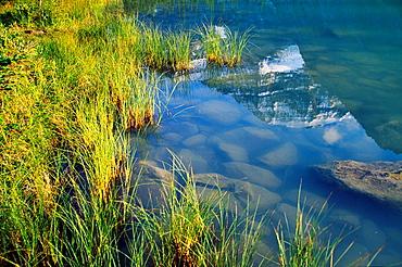 Mt Edith Cavell Jasper National Park Alberta Rocky Mountains Canada.
