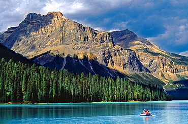 Emerald Lake, Yoho National Park Rocky Mountains British Columbia Canada.