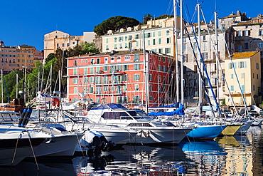 France, Corsica, Haute-Corse Department, Le Cap Corse, Bastia, The Old Port