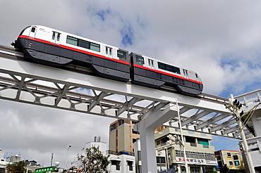 Naha, Okinawa, Japan, the Urban Monorail-Yui Rail