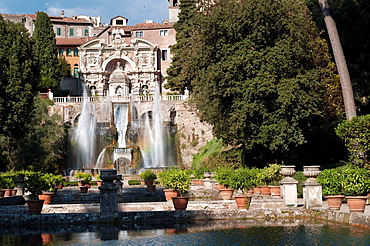 Italy, Lazio, Tivoli, Villa d¥Este, Fountain
