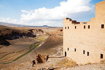 Seljuk Palace, Ani Ruins, Kars Area, North-Eastern Anatolia, Turkey, Asia