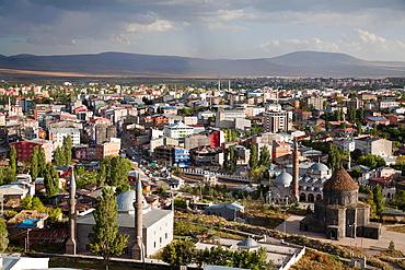 Panoramic View, Town Of Kars, North-Eastern Anatolia, Turkey, Asia