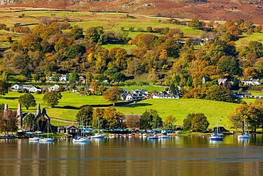 Coniston Water in the Lake District National Park, Cumbria, England, UK, Europe