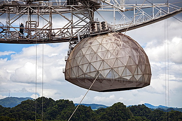 World's Largest Single-dish Radio Telescope, Arecibo Observatory, Arecibo, Puerto Rico