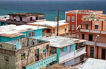 The La Perla district of Old San Juan, Puerto Rico