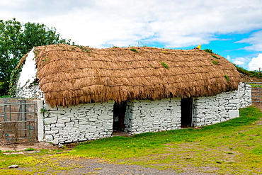 An old rustic barn in County Claire, Republic of Ireland