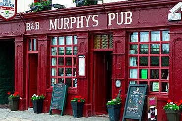 Local pub in Dingle town, Dingle Peninsula, County Kerry, Republic of Ireland