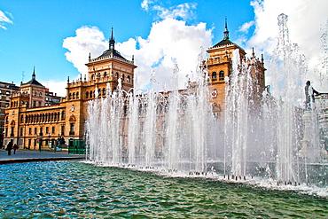 Plaza de Zorrilla, Academia de Caballeria, Valladolid, Castile and Leon, Spain