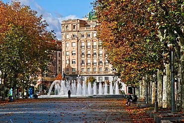 Zorrilla Avenue, Valladolid, Castile and Leon, Spain