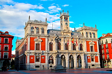 Plaza Mayor,Main Square, City Hall, Valladolid, Spain