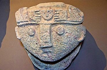 Chavin nailed head Chavin culture 900 BC-200 BC Peru